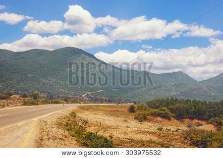 Road Trip Through The Balkans. Dinaric Alps, Bosnia And Herzegovina, Republika Srpska, Zubacko Polje