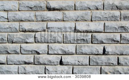 Old White Brick Wall