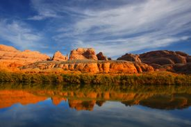 Red Rock River Reflections