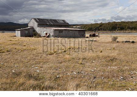Abandoned Farmhouse Near Fagnano Lake