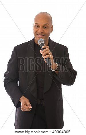 Handsome Singer