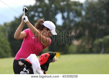 Rominger (GER) at The Evian Masters golf tournament 2011