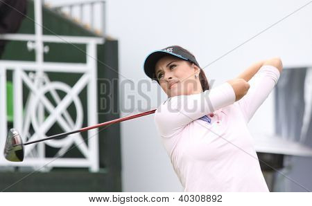 Anna Verchenova at Evian Masters, July 22, 2012