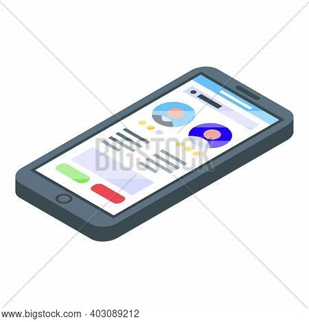 Phone Candidates Icon. Isometric Of Phone Candidates Vector Icon For Web Design Isolated On White Ba