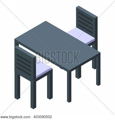Event Table Icon. Isometric Of Event Table Vector Icon For Web Design Isolated On White Background