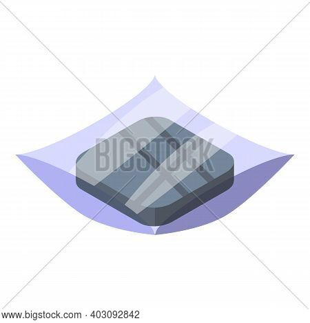 Latex Gloves Icon. Isometric Of Latex Gloves Vector Icon For Web Design Isolated On White Background