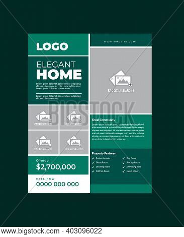 Real Estate Flyer Template Fully Editable Design Very Unique