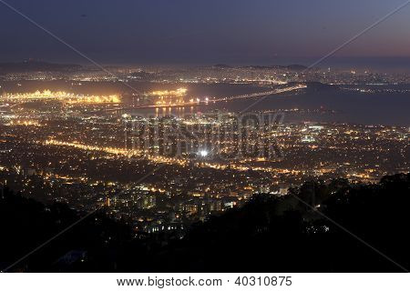 Bay Area seen from Grizzly Peak