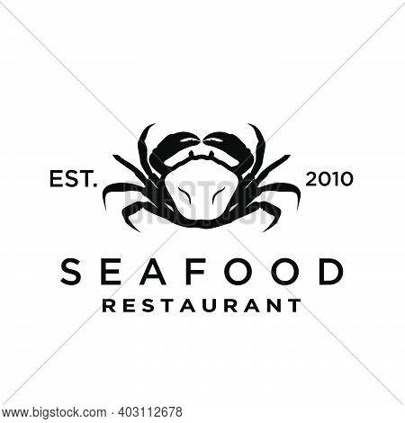 Seafood / Crab / Lobster  Logo Design Inspiration Vector
