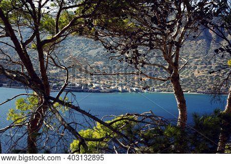 Aegean Coast Blue Water, Aegean Coast, Crete, Greece