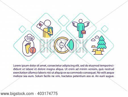 Transition To Renewable Energy Concept Icon With Text. Ppt Page Vector Template. Global Warming Prob