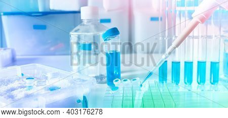 Polymerase Chain Reaction Pcr Used In Medical Testing, Biochemistry, Molecular Biology, Genetics, An
