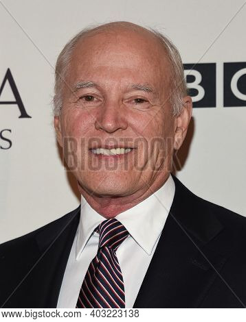 LOS ANGELES - JAN 7:  Frank Marshall arrives for  BAFTA Los Angeles Tea Party 2017 on January 07, 2017 in Beverly Hills, CA