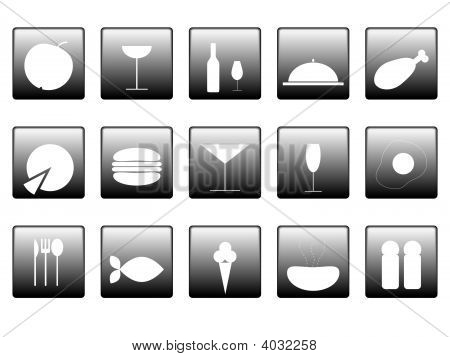 Food Icons.