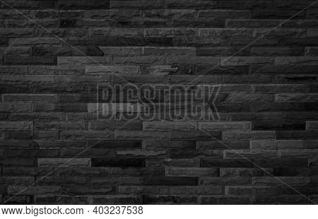 Abstract Dark Brick Wall Texture Background Pattern, Empty Brick Wall  Surface Texture. Brickwork Pa