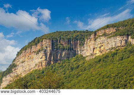 Sheer Rock, Like Cliff Called Eagle Shelf