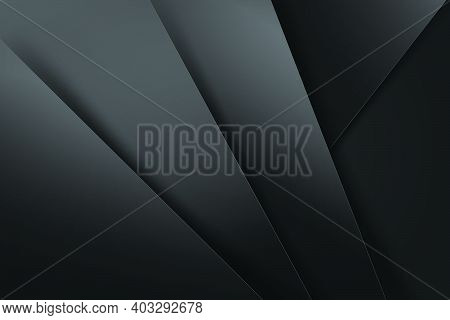 Abstract Background Dark And Black Overlap Color Vector Illustration Eps10