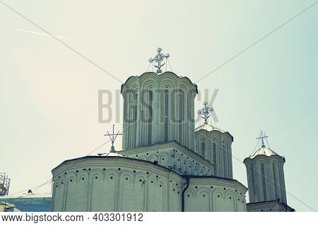 The Romanian Orthodox Patriarchal Cathedral, Bucharest, Romania