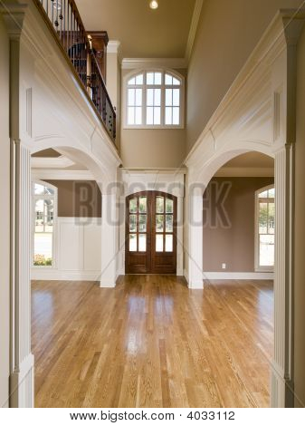 Luxury Symmetrical Arch Entrance Vertical