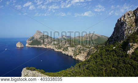 Mallorca Viewpoint Formentor Cap, Mirador Es Colomer, Wallpaper, Travelling In Beautiful Places Conc