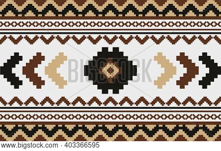 Geometric Ethnic Pattern Traditional Design For Background,carpet,wallpaper,clothing,wrapping,batik,