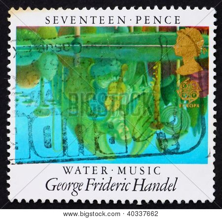 Postage stamp GB 1985 Reflections in Pool