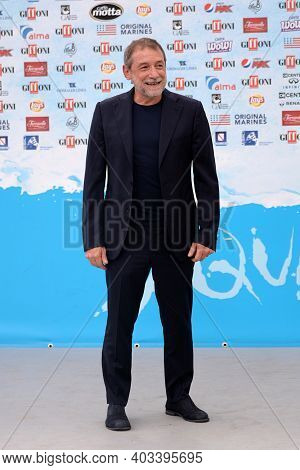 Giffoni Valle Piana, Sa, Italy - July 25, 2018 : Duccio Forzano At Giffoni Film Festival 2018 - On J