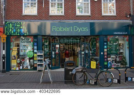 The Robert Dyas Shop In Newbury In The Uk, Taken On The 19th November 2020