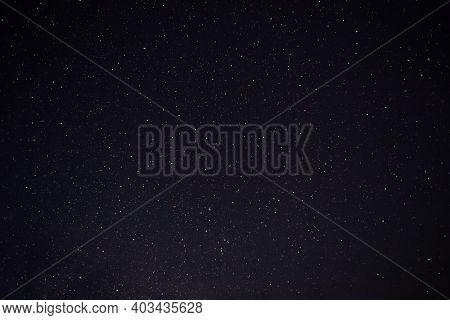 Night Sky With Lot Of Shiny Bright Stars