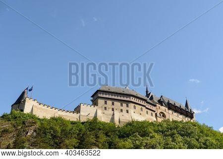 Karlstejn Castle Landscape