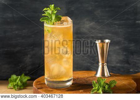Boozy Alcoholic Suffering Bourbon Cocktail
