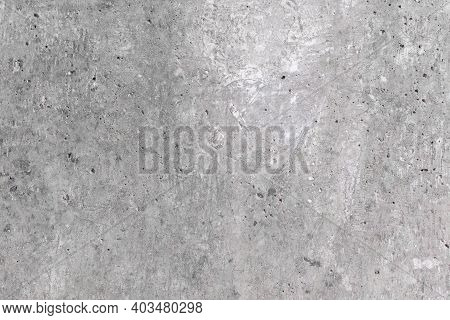 Untreated Concrete Wall With Plaster, Repairs In The Apartment, Concrete Background