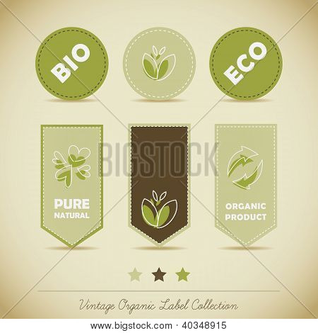 Organic Label Collection