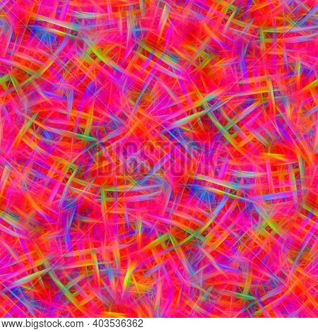 Seamless Abstract Background. Factory Textile Pattern, For Design And Creativity