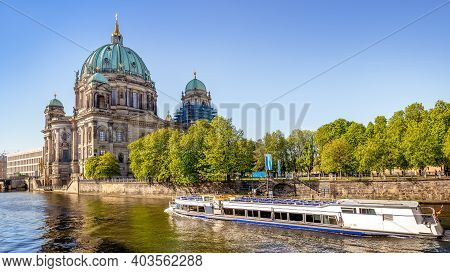 The Famous Berlin Cathedral In Berlin, Germany