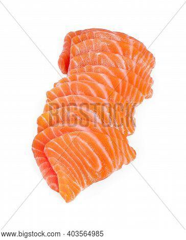 Salmon Salmon Isolated On A White Background