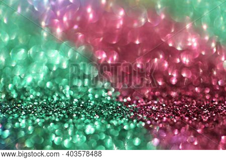 Wallpaper Phone Shining Glitter.glitter Radiance Surface. Glitter With Shining Bokeh.festive Backgro