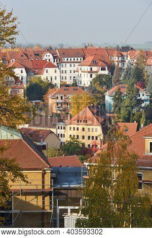 Bautzen, Germany - October 27: Panorama Of Bautzen On October 27, 2015 In Bautzen, Germany. Bautzen