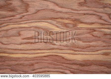 background and texture of wood veneer - red cedar tree