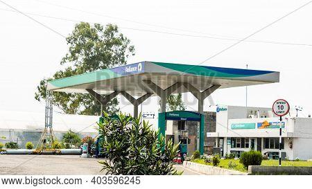 New Delhi - 21 July, 2019 - A View Of Reliance Petroleum Ltd. Fuel Pump
