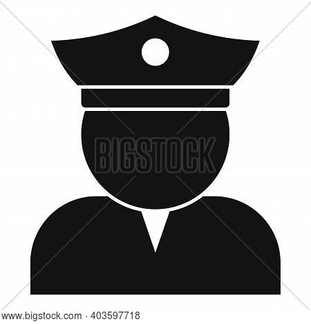Guard Man Icon. Simple Illustration Of Guard Man Vector Icon For Web Design Isolated On White Backgr