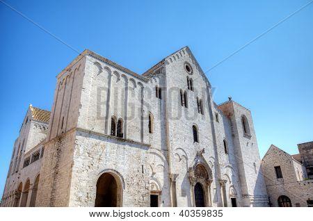 Basilica of Saint Nicholas. Bari, Italy