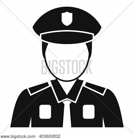 Indian Policeman Icon. Simple Illustration Of Indian Policeman Vector Icon For Web Design Isolated O