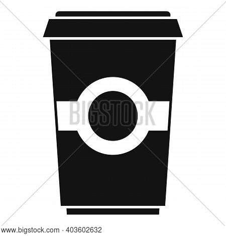 To Go Coffee Cup Icon. Simple Illustration Of To Go Coffee Cup Vector Icon For Web Design Isolated O