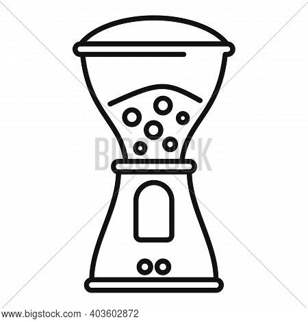 Coffee Electric Grinder Icon. Outline Coffee Electric Grinder Vector Icon For Web Design Isolated On