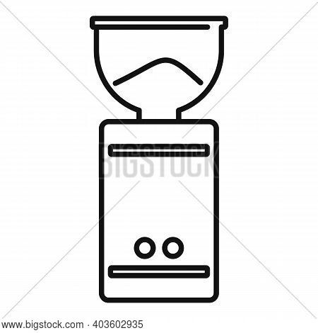Coffee Mixer Grinder Icon. Outline Coffee Mixer Grinder Vector Icon For Web Design Isolated On White