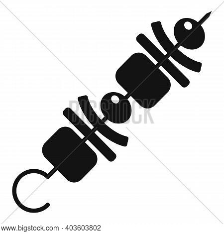 Bbq Sticks Icon. Simple Illustration Of Bbq Sticks Vector Icon For Web Design Isolated On White Back