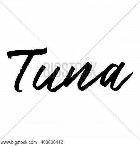 Tuna Icon. Cartoon Of Tuna Vector Icon For Web Design Isolated On White Background