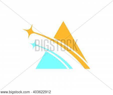Star Faster Express Logo Icon Vector Illustration