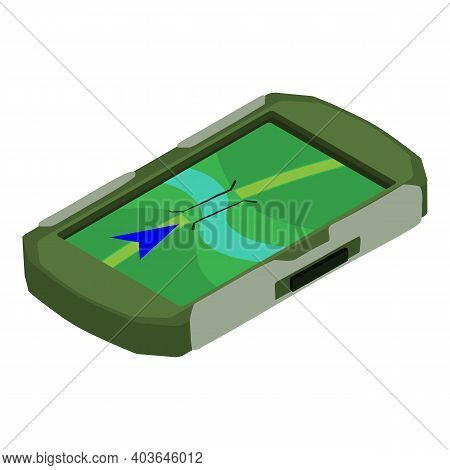 Hunting Gps Icon. Isometric Of Hunting Gps Vector Icon For Web Design Isolated On White Background